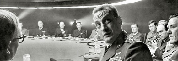 War Room scene in the movie Dr. Strangelove""