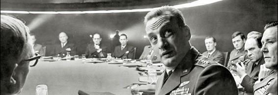 War Room scene in the movie Dr. Strangelove