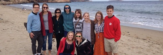 Majors at Singing Beach