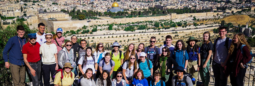 Team on Jerusalem trip