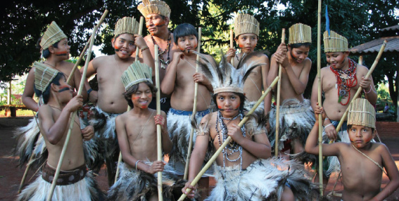 Boys of the Guarani Tribe