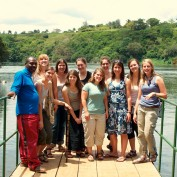 The group at Jinja