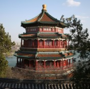 Old Chinese palace