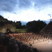 The Military Tattoo at Edinburgh Castle