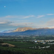 A view of the landscape at Paarl