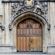 Building doors at Oxford University