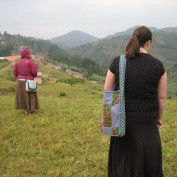In the mountains of Rwanda.