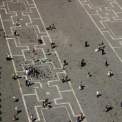 San Marco Square from above