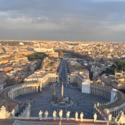 vatican from cupoloa of st peters