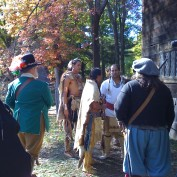 Pioneer Village Pilgrim-Wampanoag Encounter
