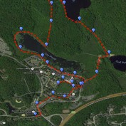 Running Trail Map