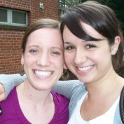 Former Interns Amy Aupperle and Lauren Baker
