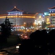 Xian at night