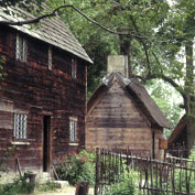 A cabin in historic Salem