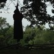 the hanging of a convicted witch
