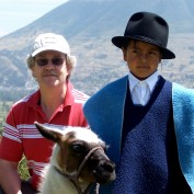 Karl with an Ecuadorian boy