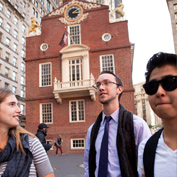 Students in Boston