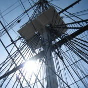 Salem harbor masts