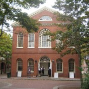 Exterior of the Old Town Hall, 32 Derby Sq. Salem, MA