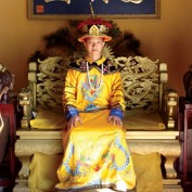 Sam Tsoi in royal Chinese garments