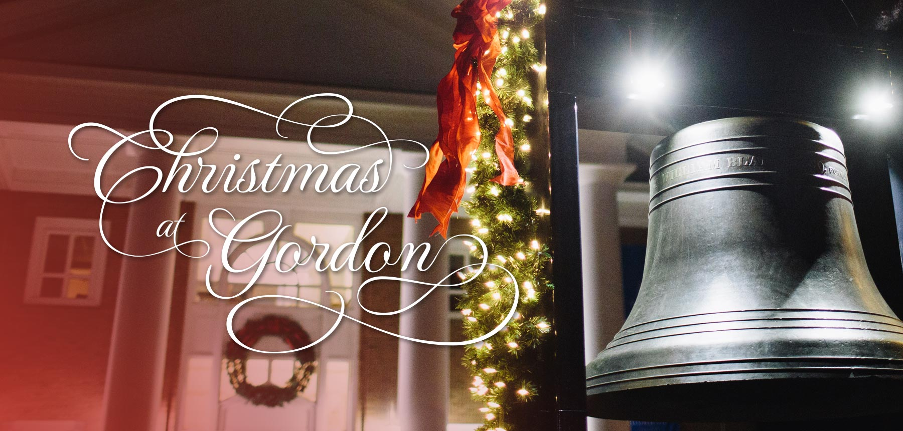 Christmas at Gordon