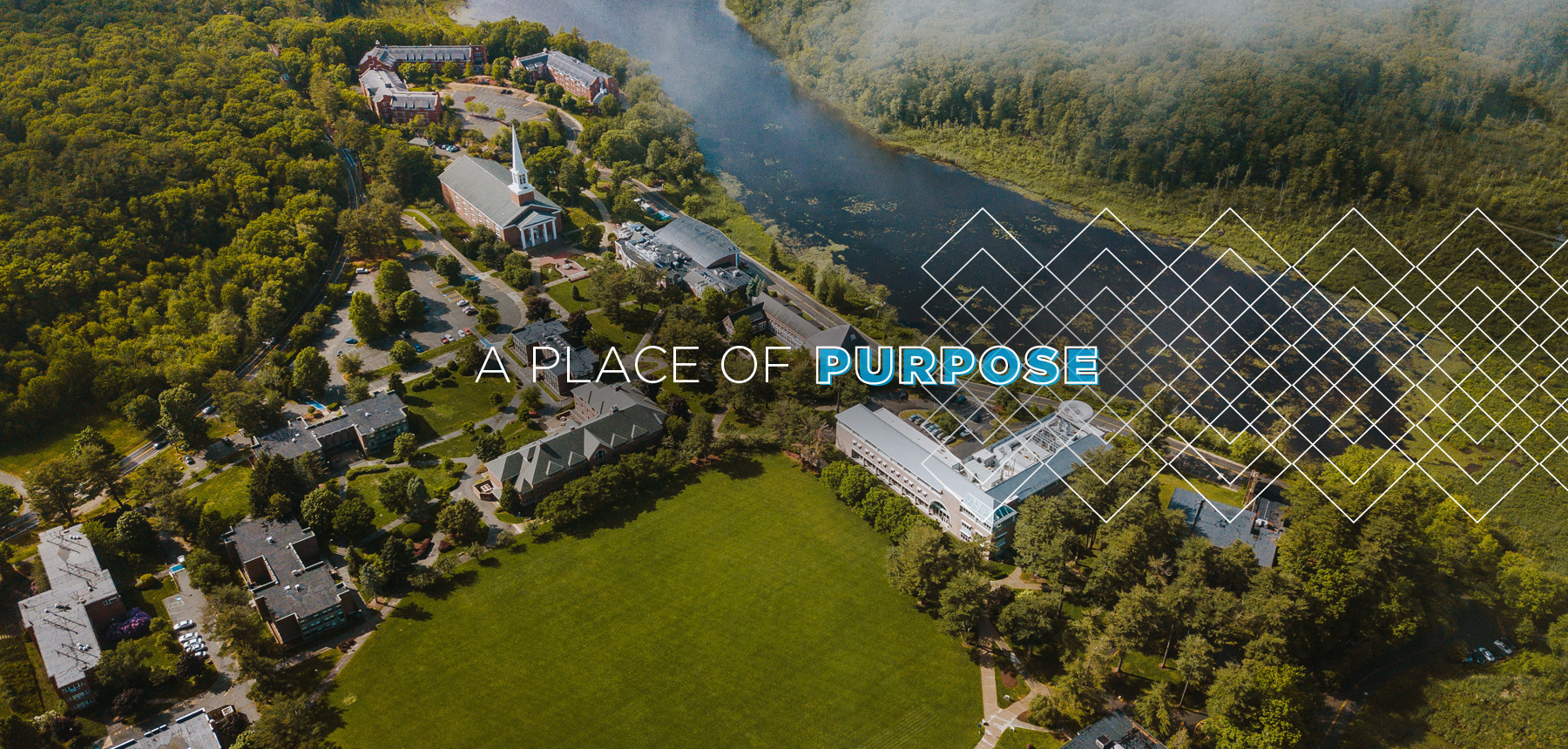 A Place of Purpose aerial photo