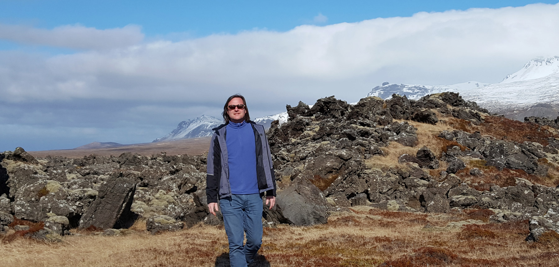 Greg Keller in Iceland