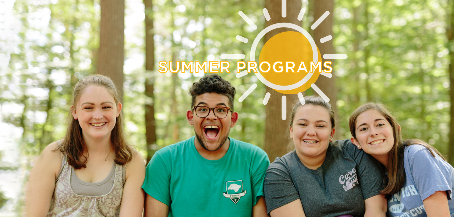 Summer Programs students