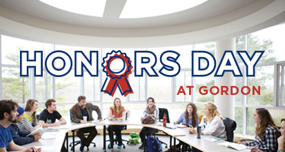 Honors at Gordon Day