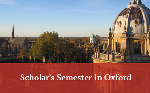 Scholar's Semester in Oxford