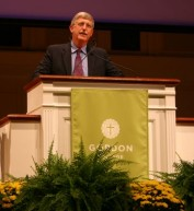 Francis Collins speaks at Gordon College