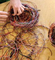 Creating the nest of wires