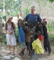 Paul Helgesen in Haiti