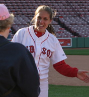 Red Sox Girl Megan