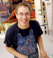 Bruce Herman in his studio