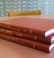 New bound history theses can be found in the general collection of Jenks Library.