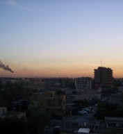 The Iraqi skyline