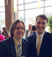 Dr. Justin Topp, faculty and Michael Lindsay, President of Gordon College